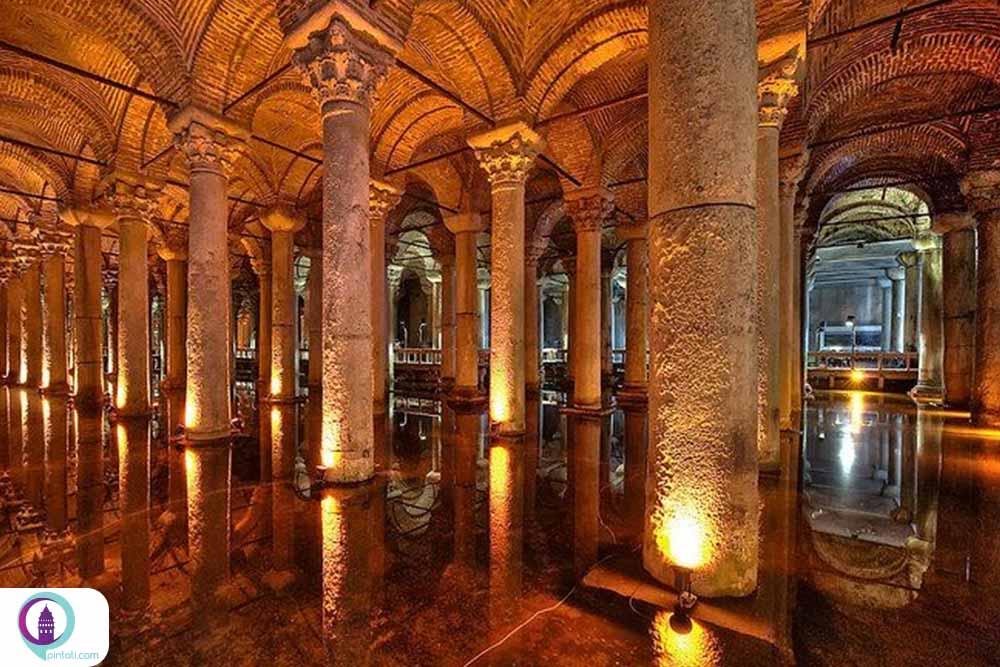 آب انبار باسیلیکا سیسترن استانبول