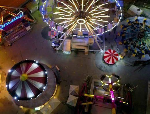 شهربازی لونا پارک بوستانجی جایی برای تفریح و سرگرمی کودکان