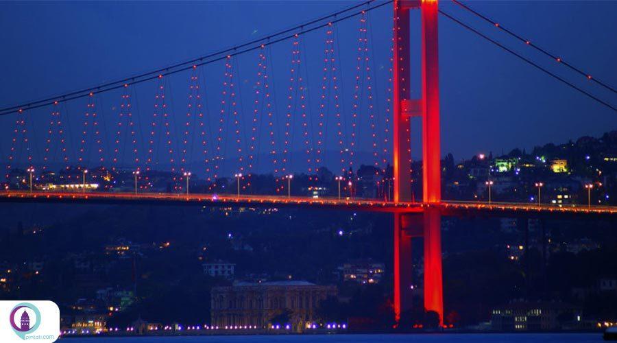جاذبههای معلق استانبول!