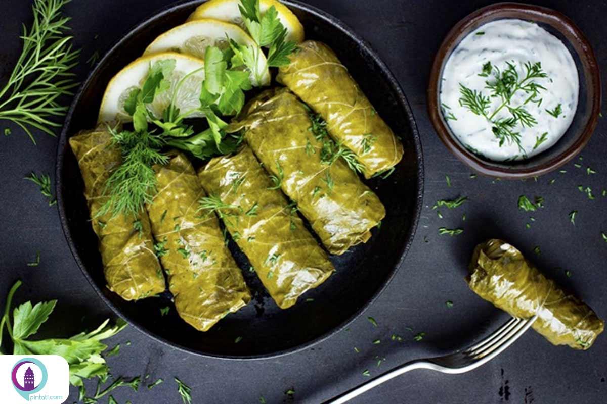 دلمه غذای ترکی
