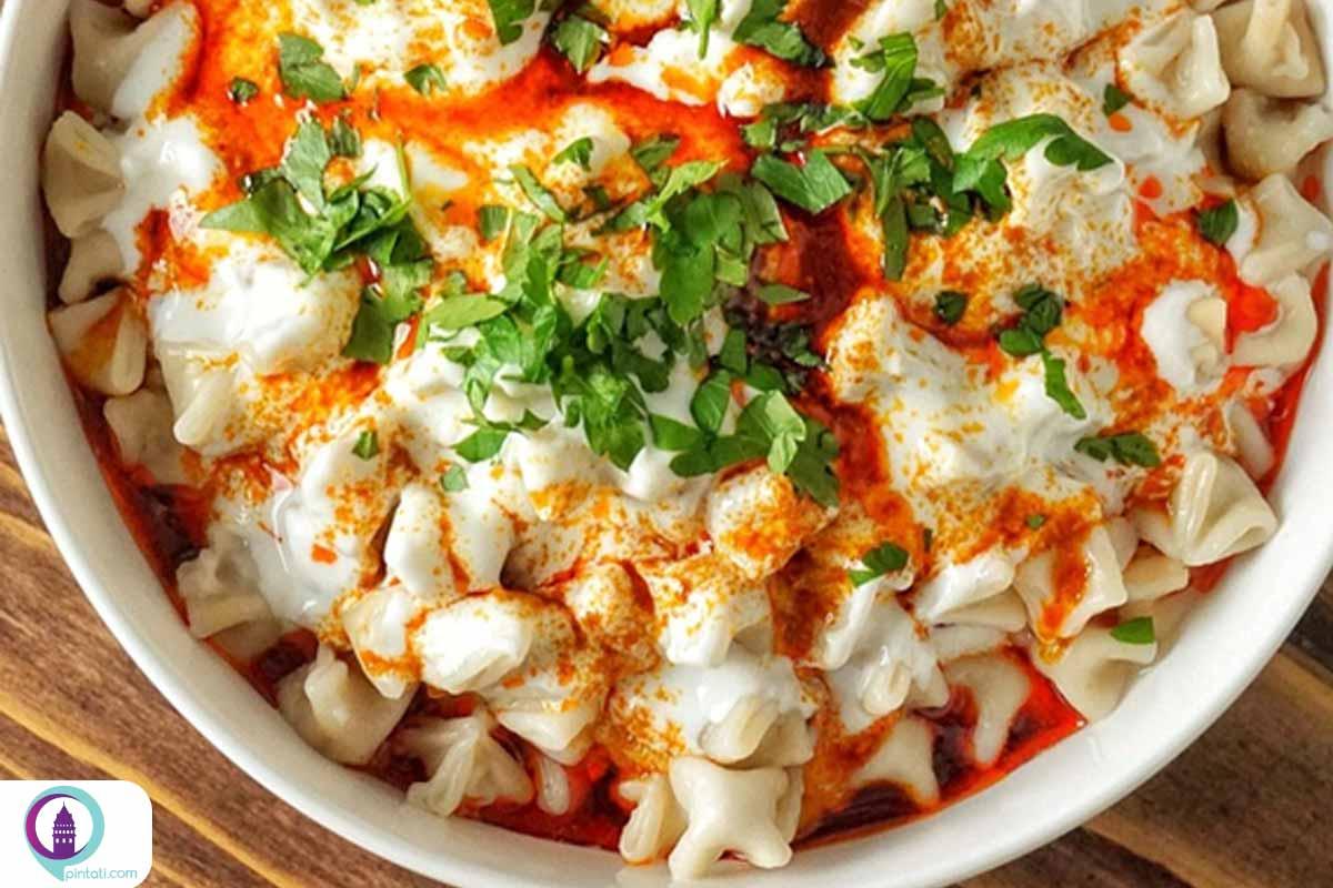 مانتی غذا ترکی