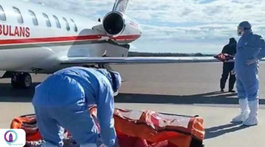 ترکیه برای بازگرداندن یک شهروند کرونایی از سوئد آمبولانس هوایی اعزام کرد