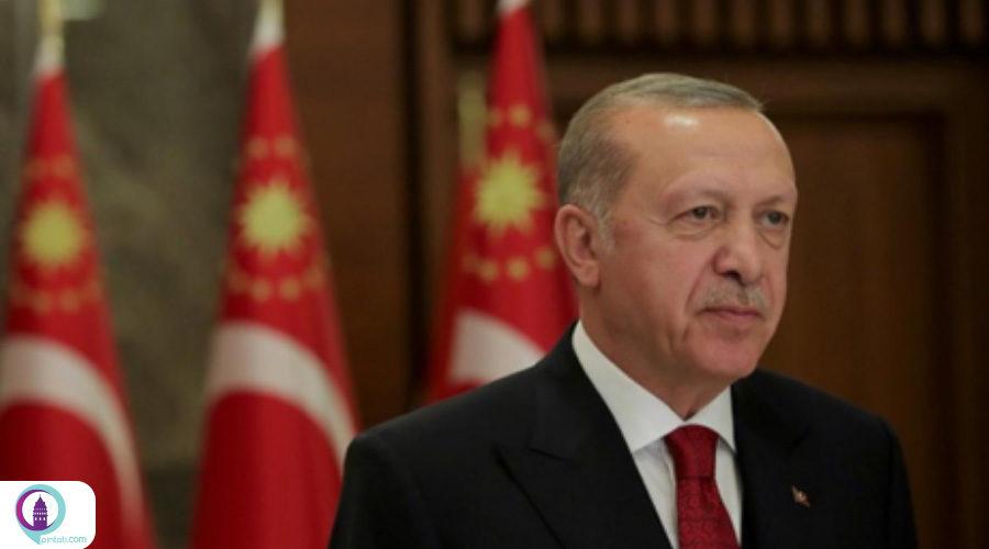 اردوغان: هیچ عاملی حتی کرونا ما را از تلاش باز نمیدارد