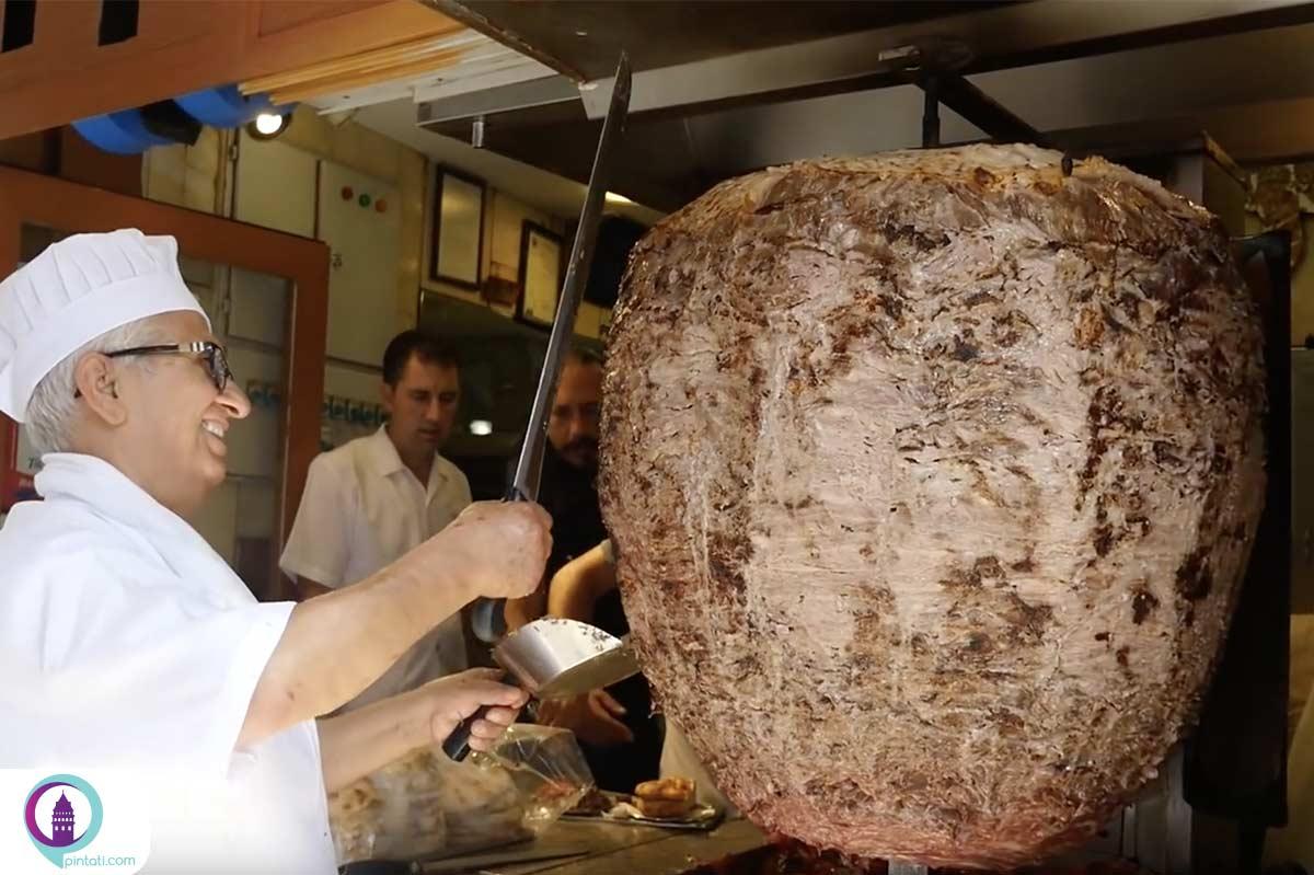 کباب ترکی یا دونر کباب