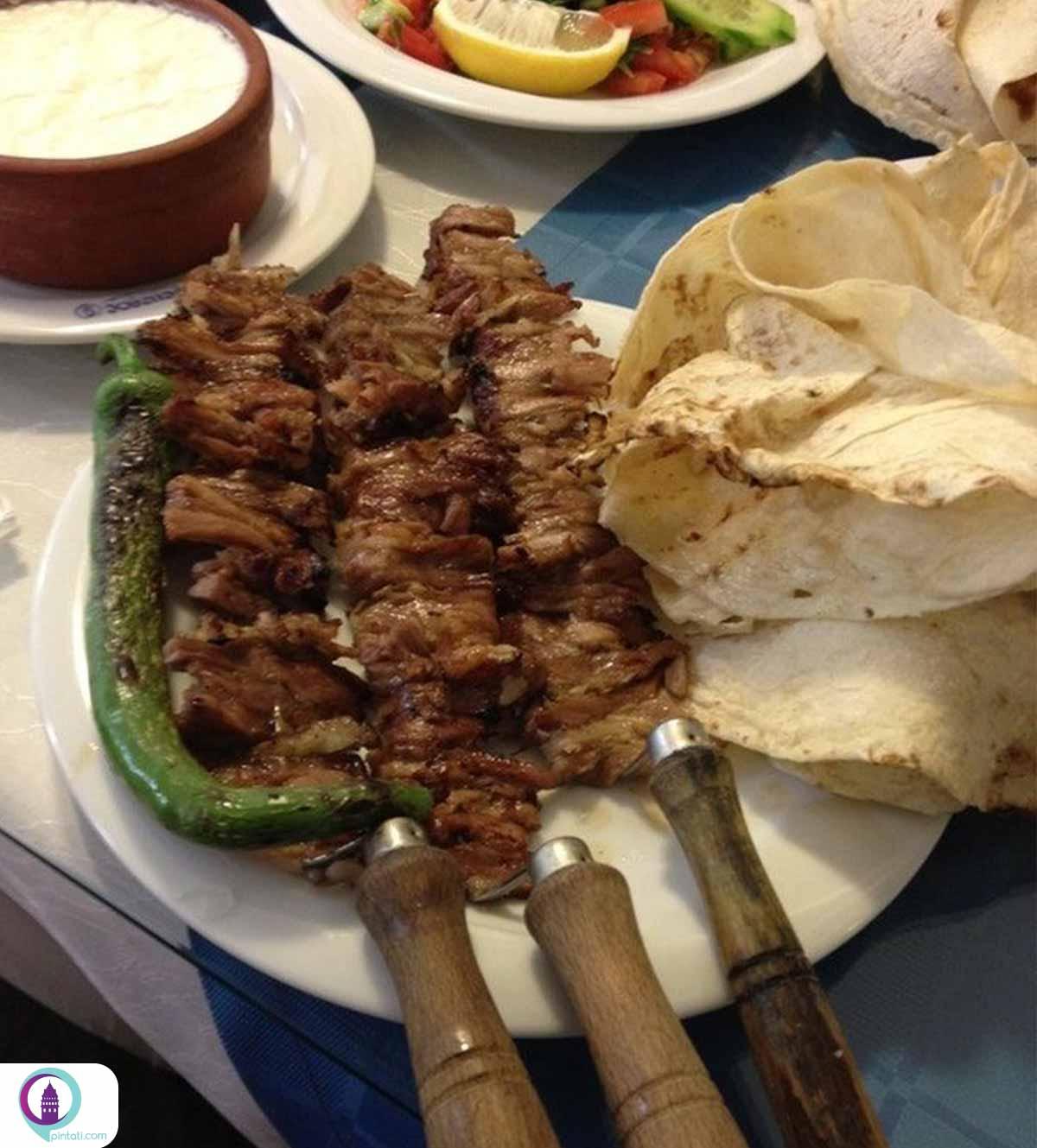جاق کباب غذای ترکی
