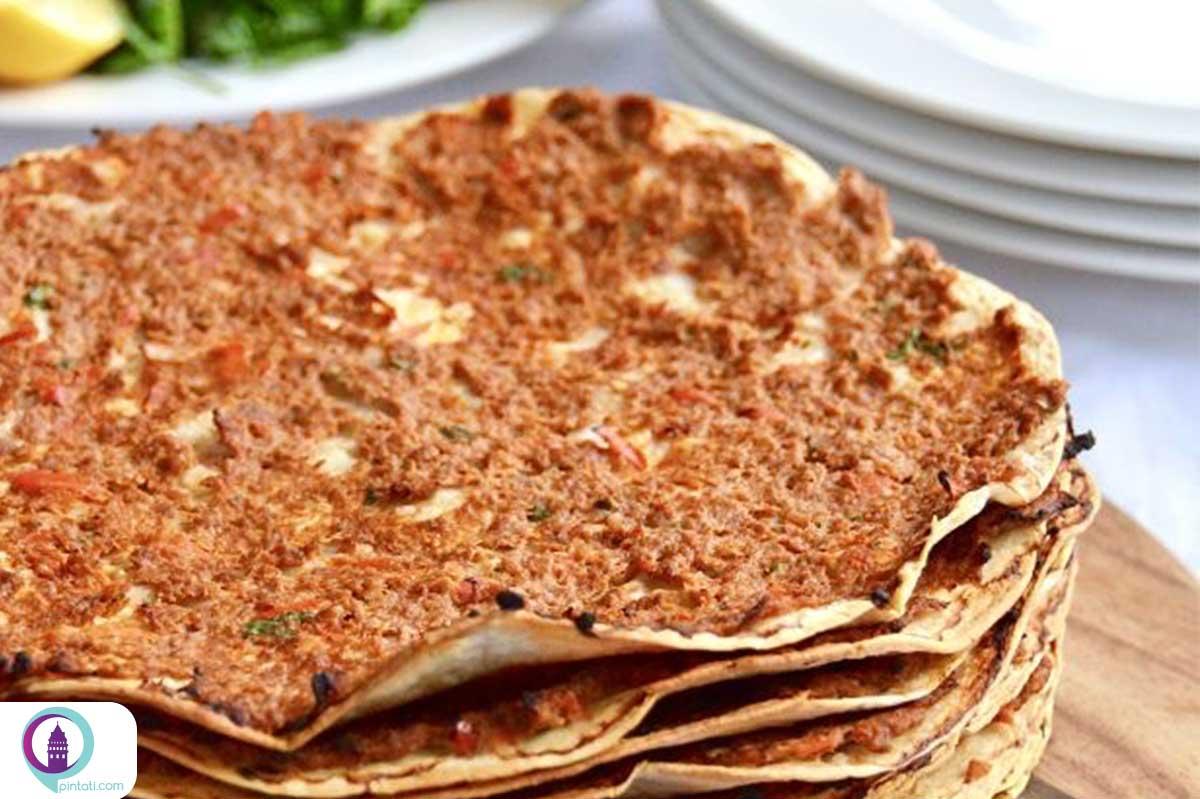 لهمجون غذا ترکی