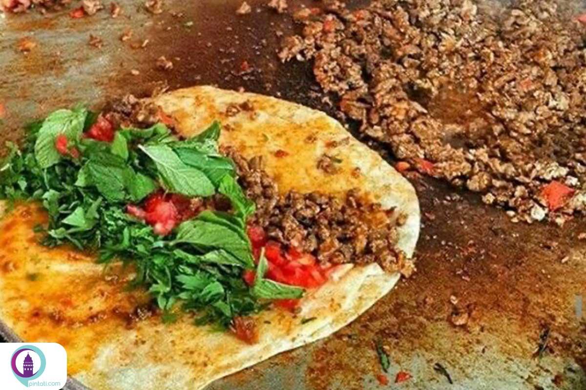 تانتونی غذا خیابانی ترکی