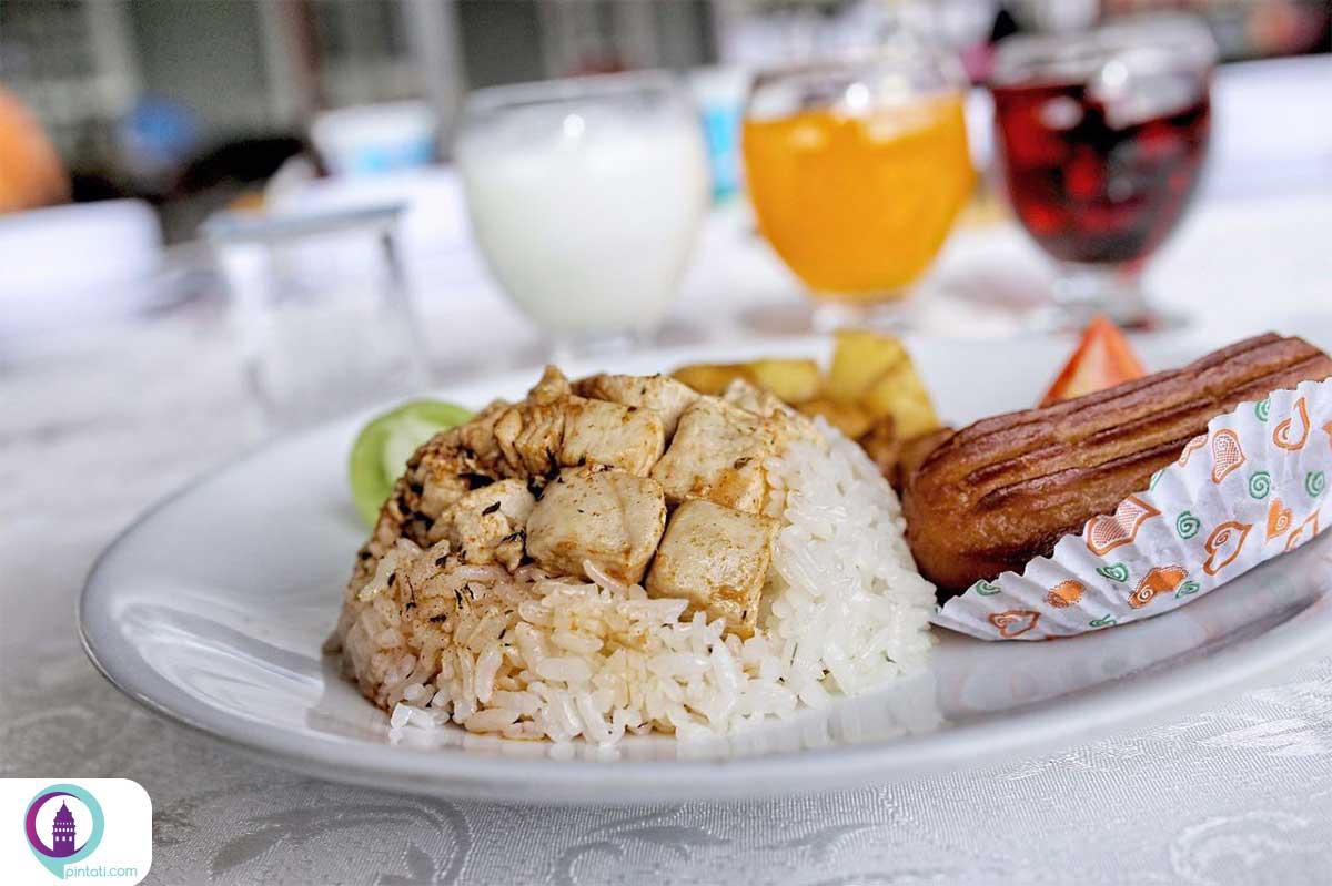 تاووک پیلاو غذا ترکی