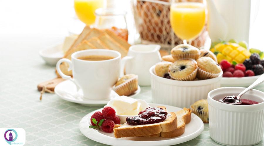 انواع صبحانه در هتل ها