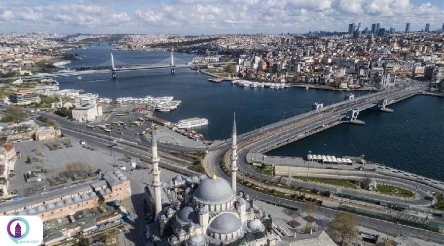 کیفیت هوای استانبول در دوران شیوع کرونا بهبود یافته است