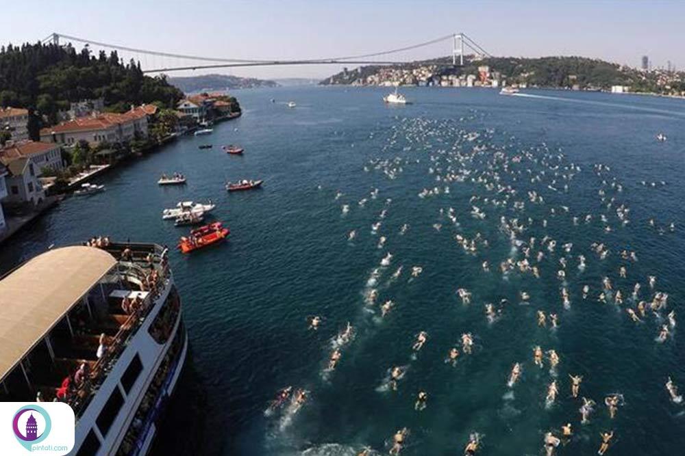 مسابقه شنای بین قارهای بسفر