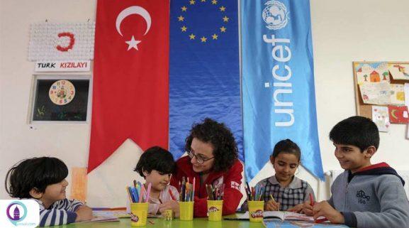 آموختن زبان ترکی برای مهاجرین و پناهندگان
