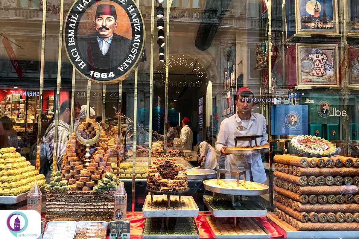 بهترین سوغاتیهای استانبول