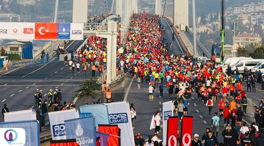 ماراتن استانبول جام ودا�ون (Vodafone Istanbul Marathon)