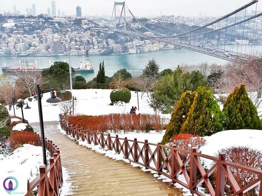 آب و هوای متغییر استانبول
