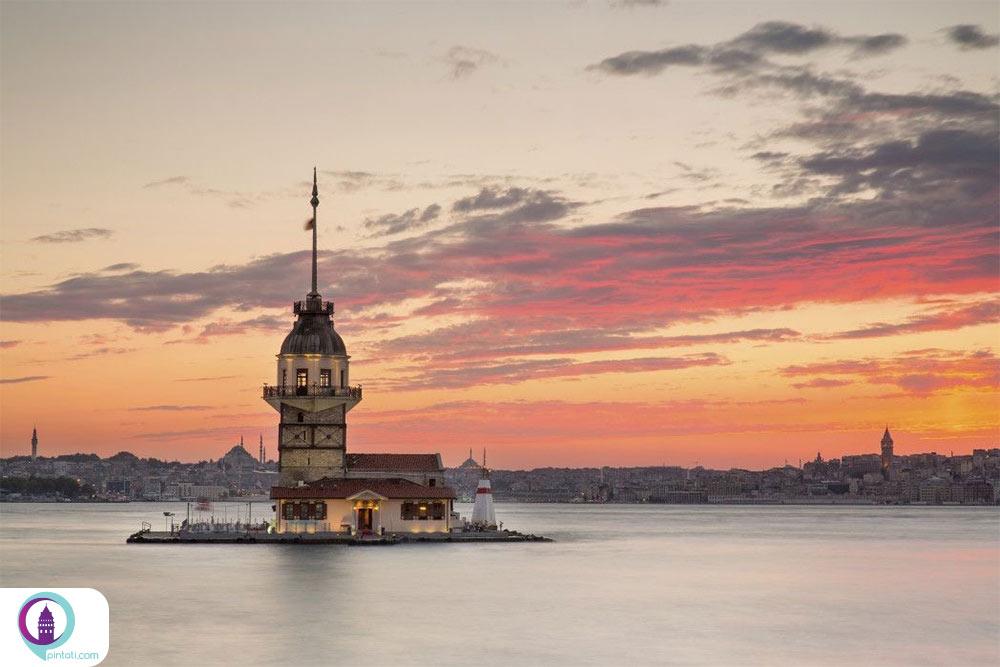 برج دختر ترکیه
