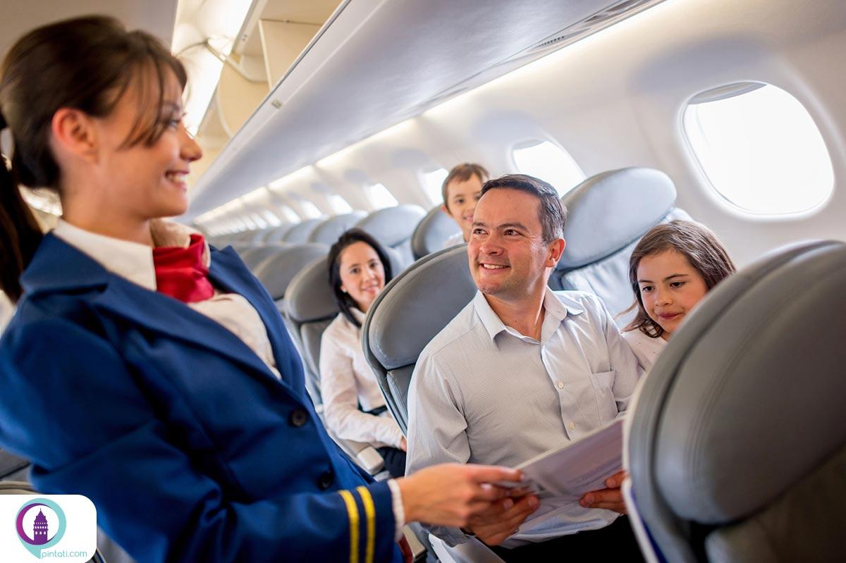 آداب پرواز سفرهای هوایی