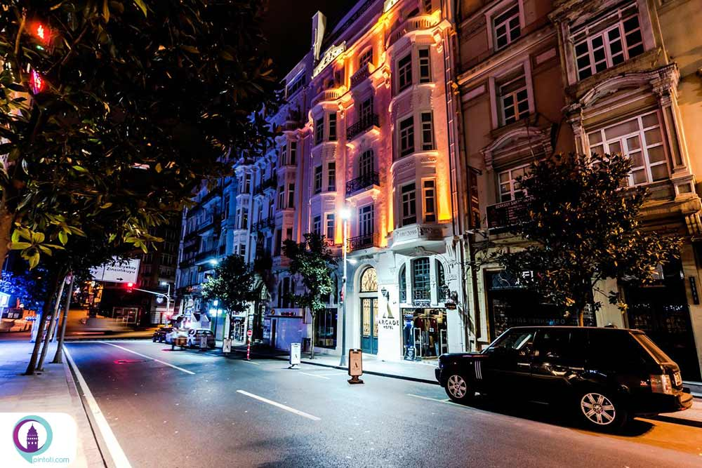 ارکید هتل در شیشلی استانبول