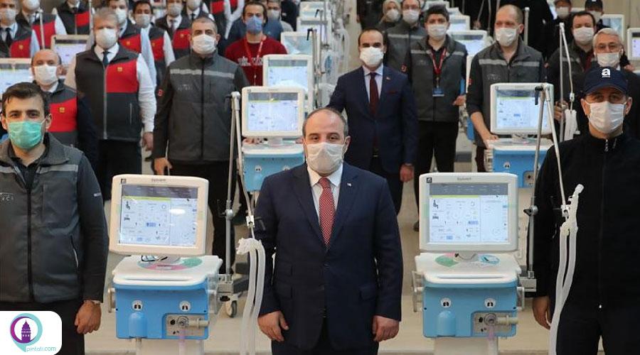 دستگاه تنفس مصنوعی ترکیه