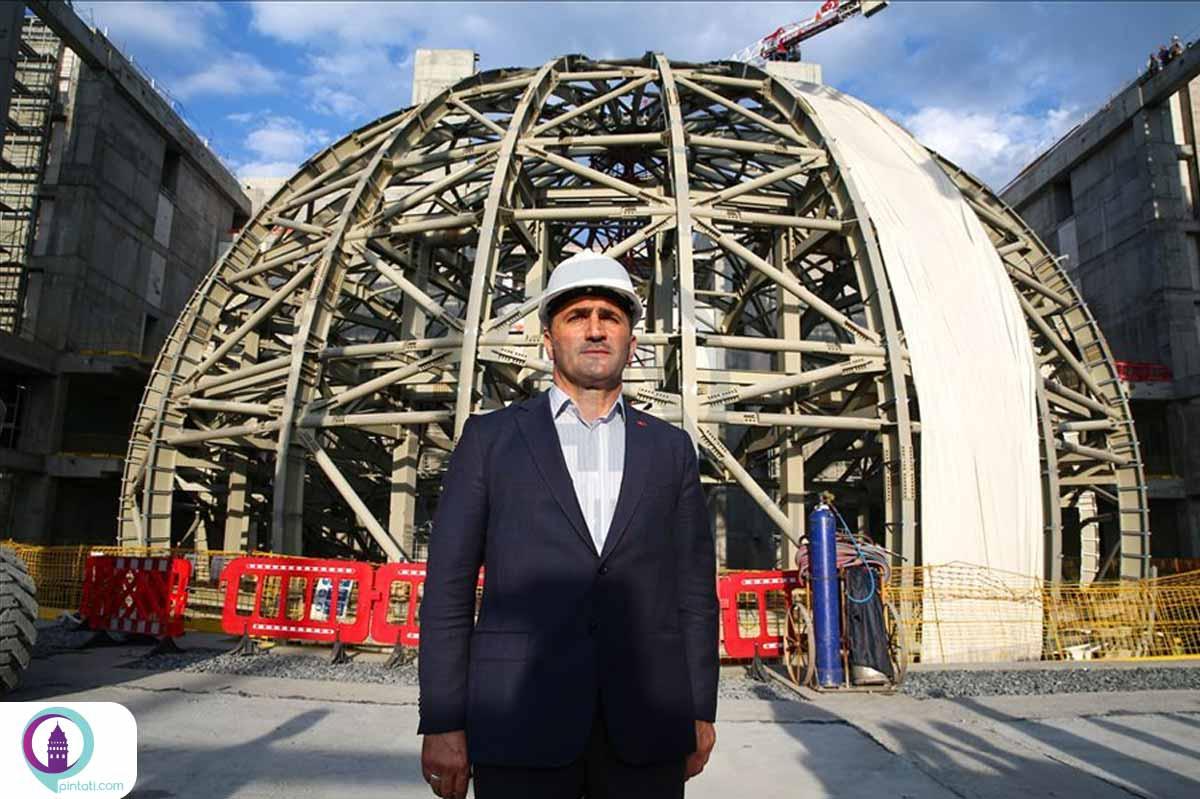 ساخت مرکز فرهنگی آتاتورک