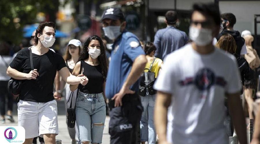 جریمه برای عدم استفاده از ماسک در ترکیه