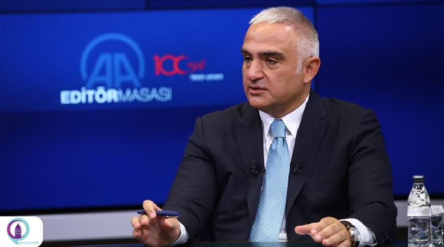 وزیر فرهنگ و گردشگری ترکیه