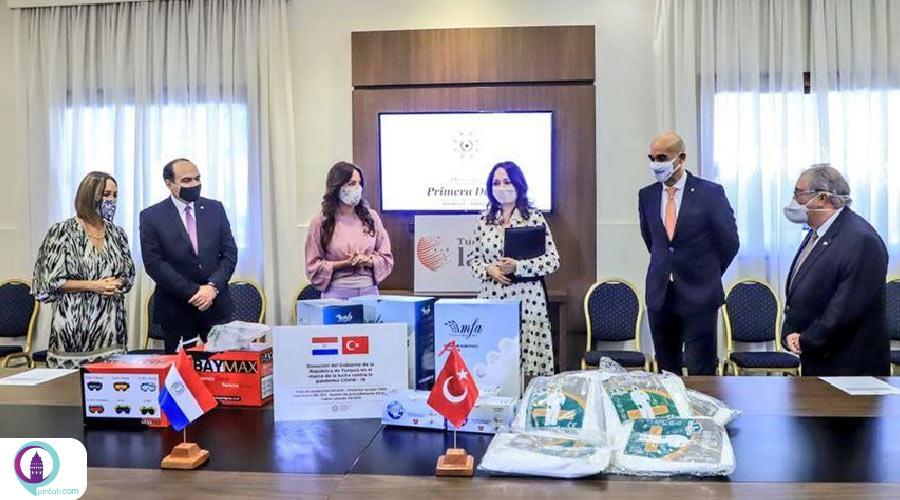 حمایت ترکیه از پاراگوئه برای مقابله با کرونا