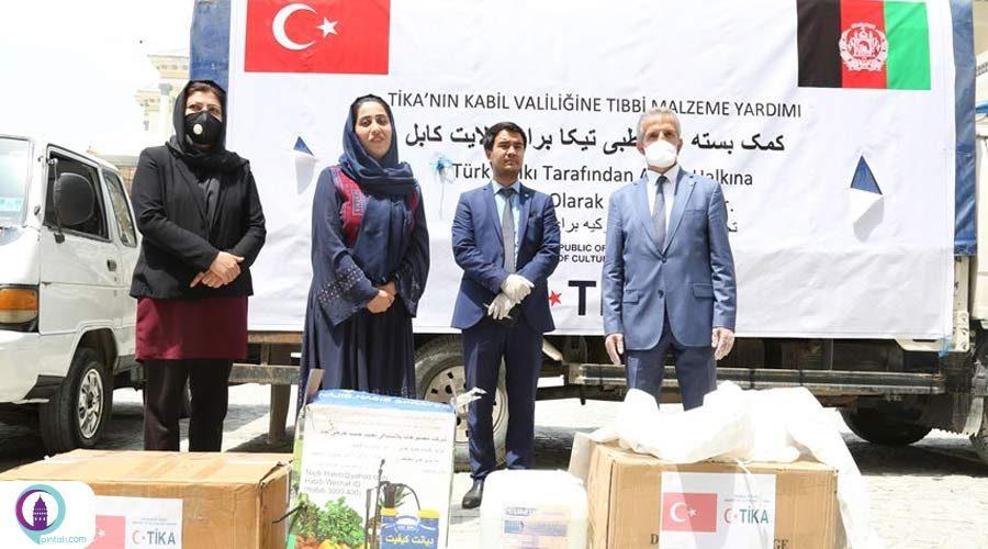 محموله کمکهای پزشکی ترکیه به افغانستان