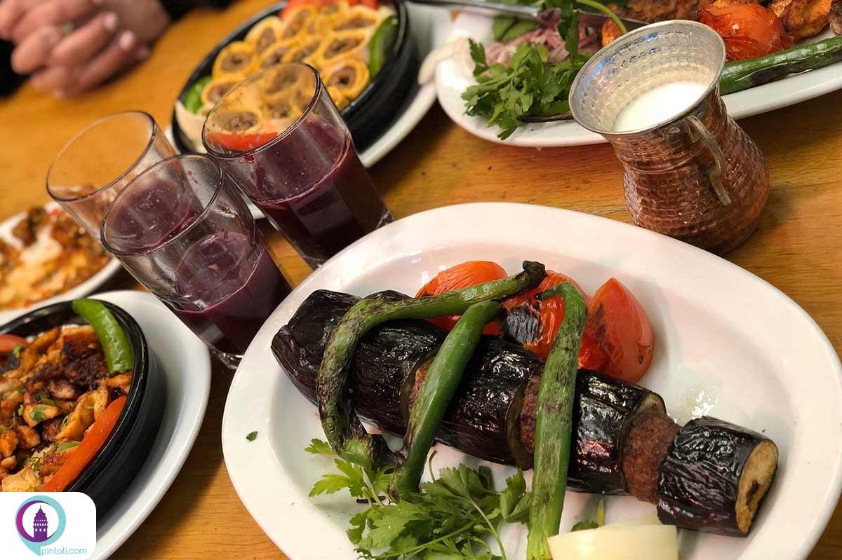 مقصد خارجی-استانبول-غذاهای ترکی