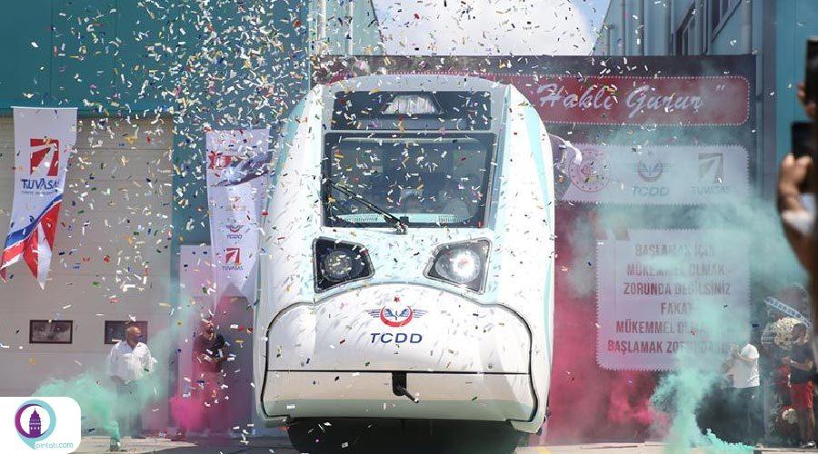 قطارهای برقی ملی ترکیه در ساکاریا آزمایش شد