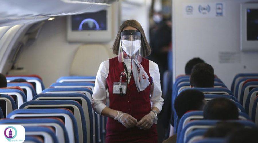 انجام نخستین پرواز پساکرونایی شرکت ترکیش ایرلاینز در ترکیه
