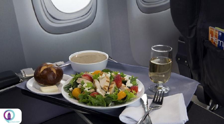 تغذیه قبل پرواز