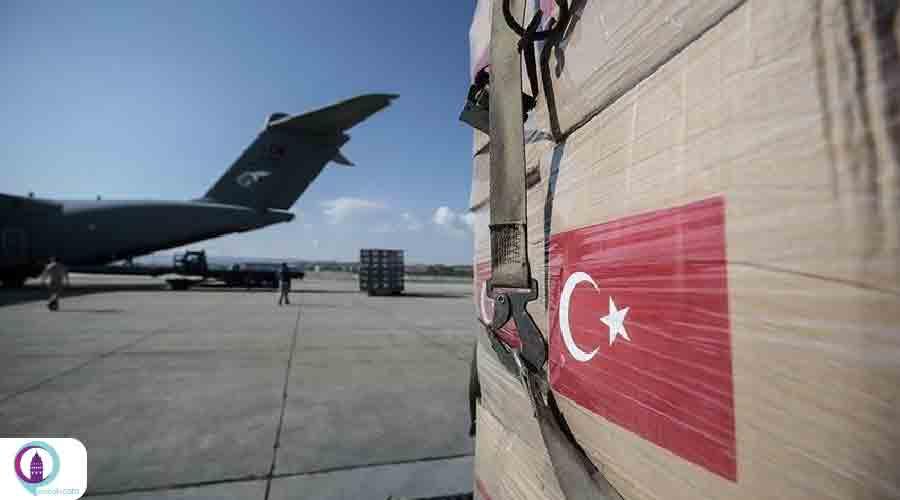 ترکیه محموله پزشکی