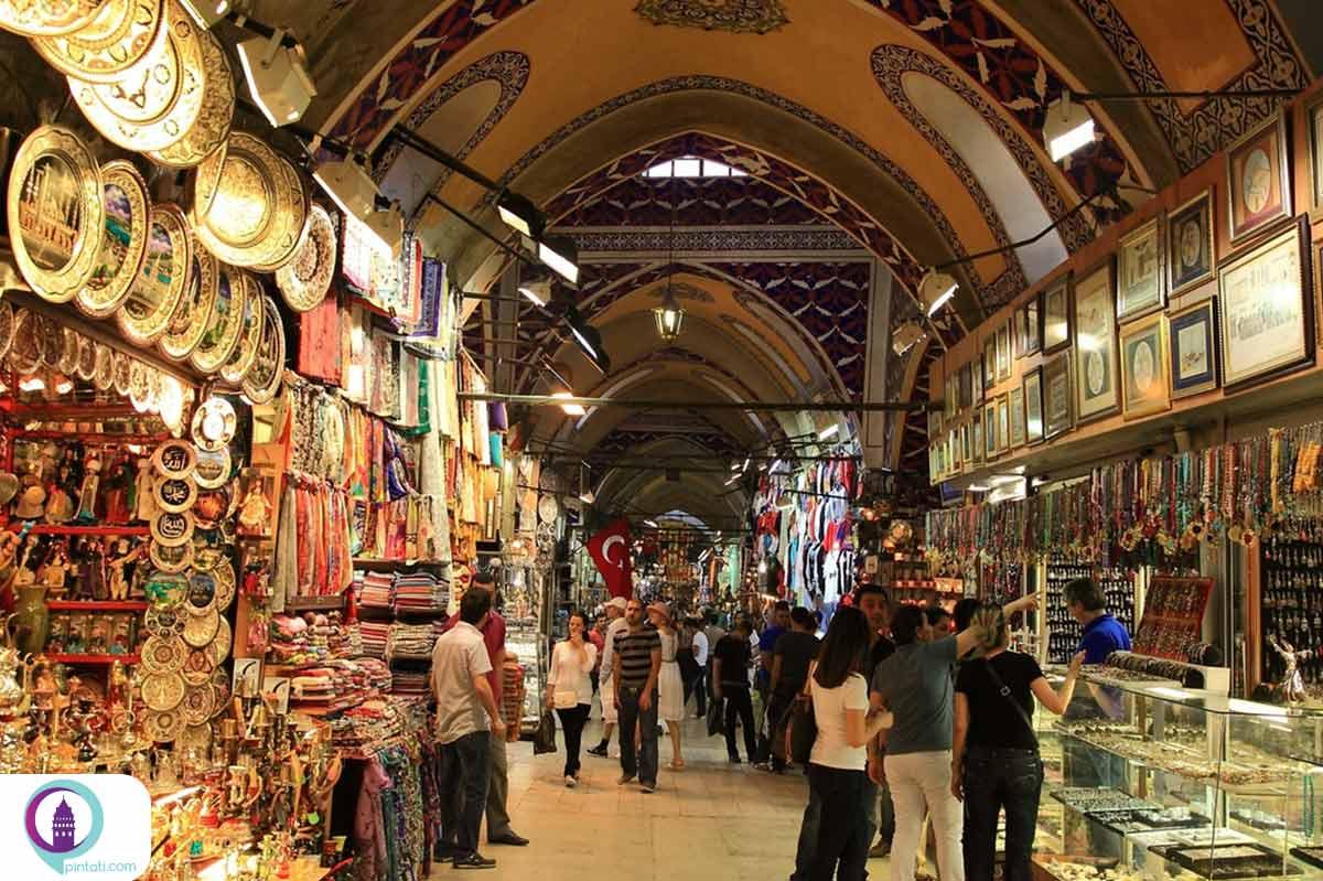 بازار برزگ در استانبول