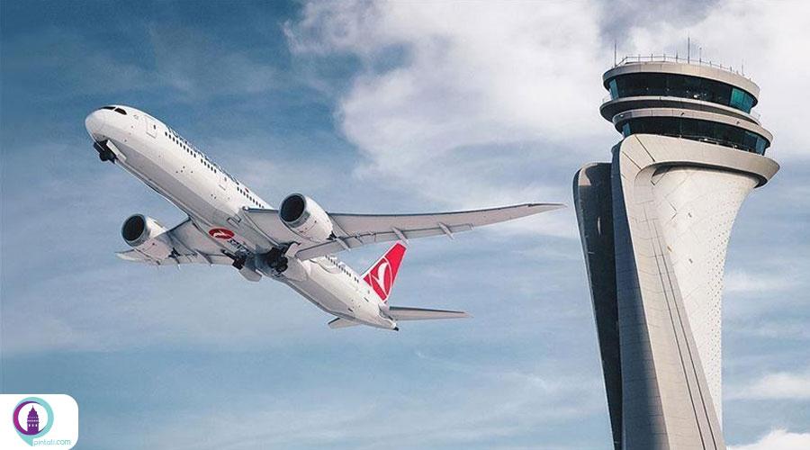 پروازهای بینالمللی فرودگاه استانبول