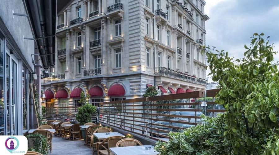 هتلهای 4 ستاره منطقه بی اغلو
