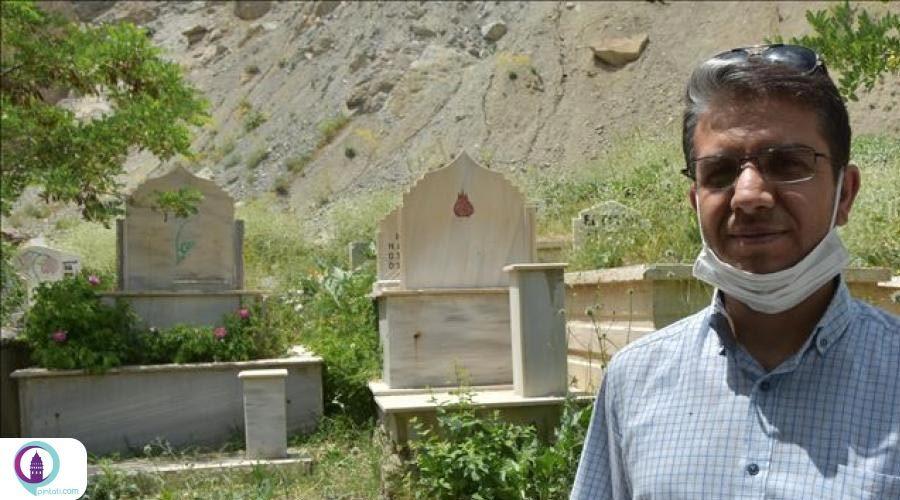 دو سنگ مزار به زبانهای فارسی و عربی در ترکیه کشف