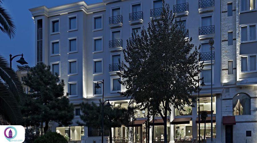 هتل های چهار ستاره منطقه فاتح ⭐️