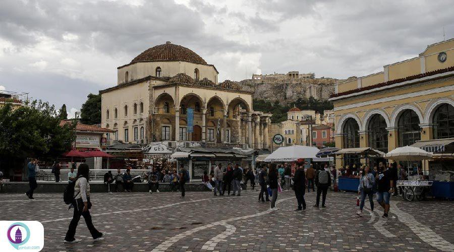 بسیاری از آثار تاریخی متعلق به جهان ترک-اسلام در یونان تغییر کاربری دادند