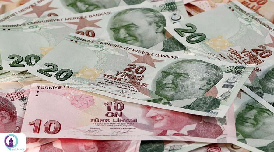 میانگین حقوق در ترکیه