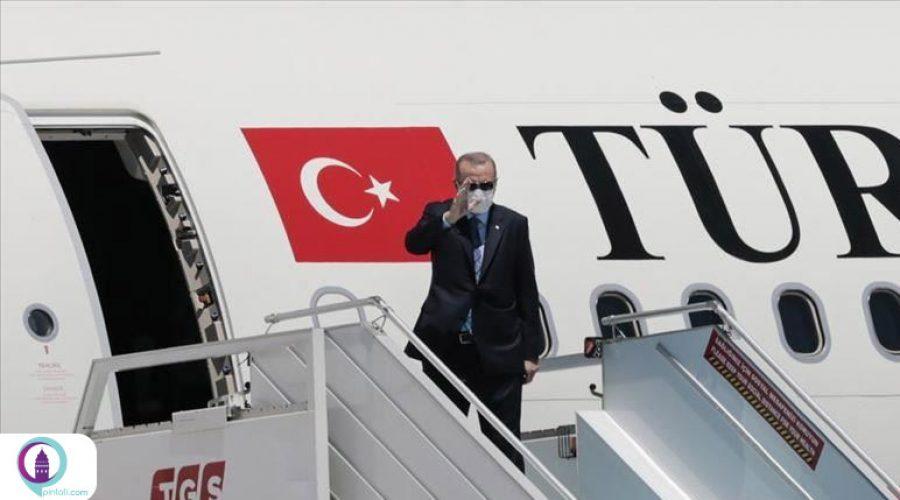 قطر، نخستین سفر خارجی اردوغان در دوران کرونا