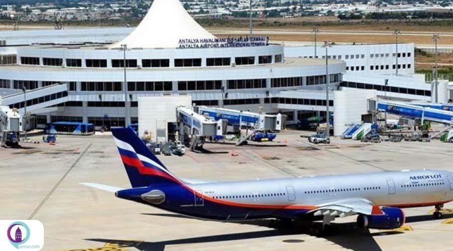 طی یک روز، فرود 55 هواپیمای حامل گردشگران خارجی در فرودگاه آنتالیا