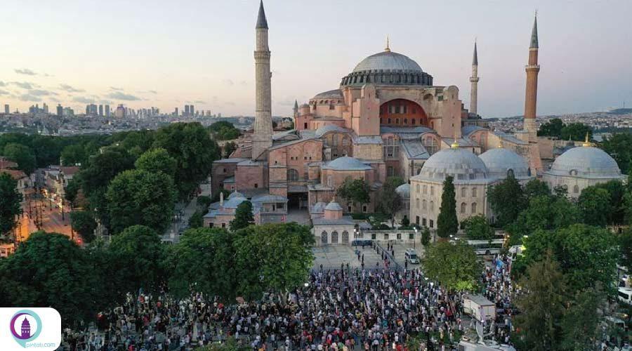 افتتاح رسمی مسجد ایاصوفیه در ۲۴ جولای