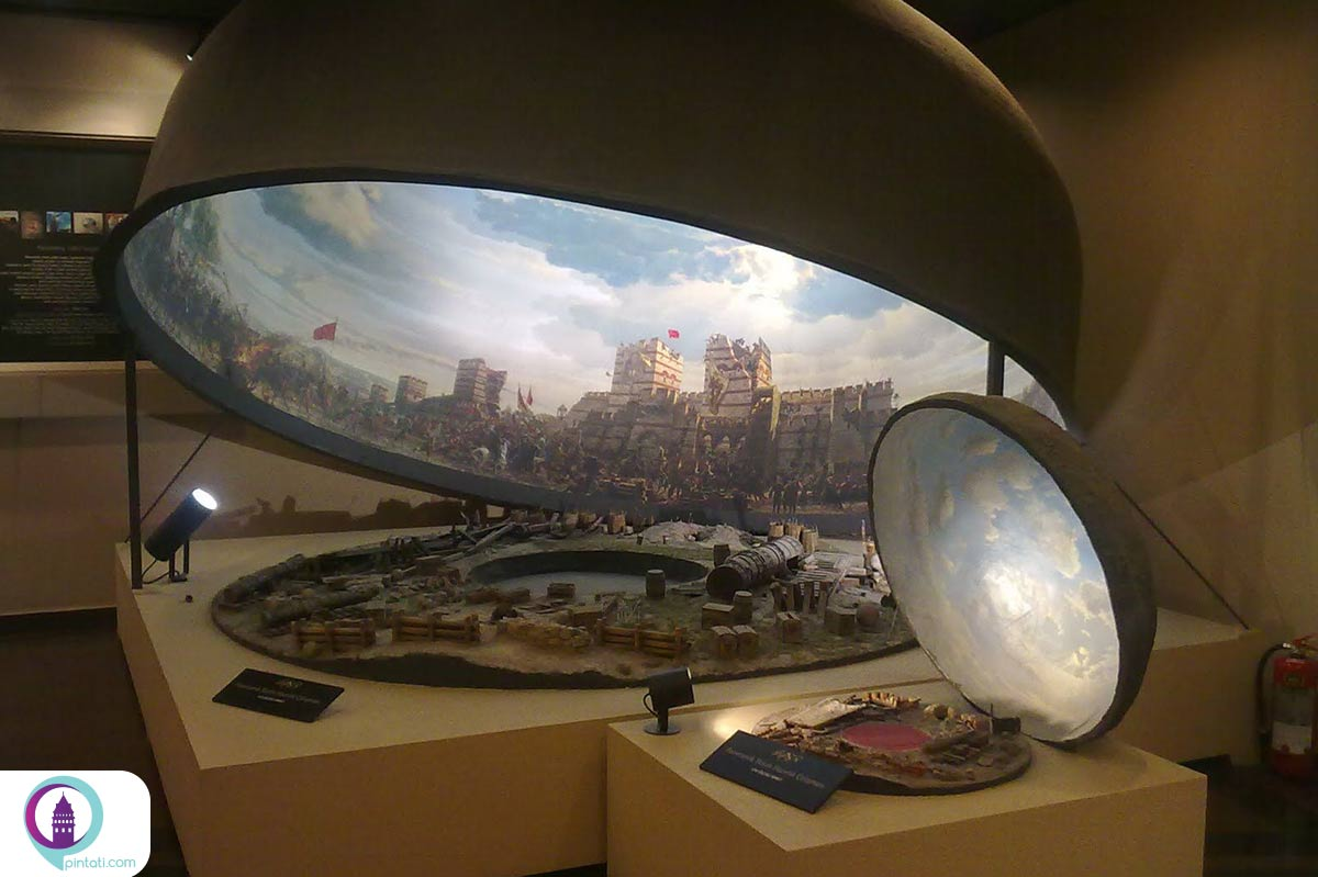 موزهی پانوراما 1453 استانبولموزهی پانوراما 1453 استانبول