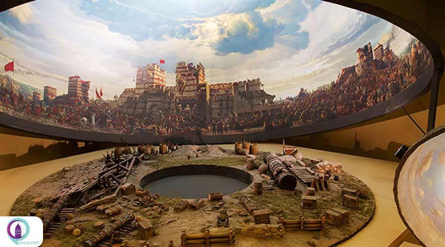 موزه پانوراما استانبول 1453❤️