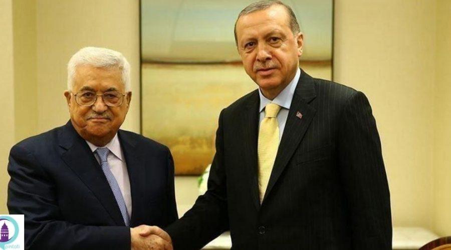 اردوغان رئیس جمهور ترکیه و عباس تلفنی رایزنی کردند