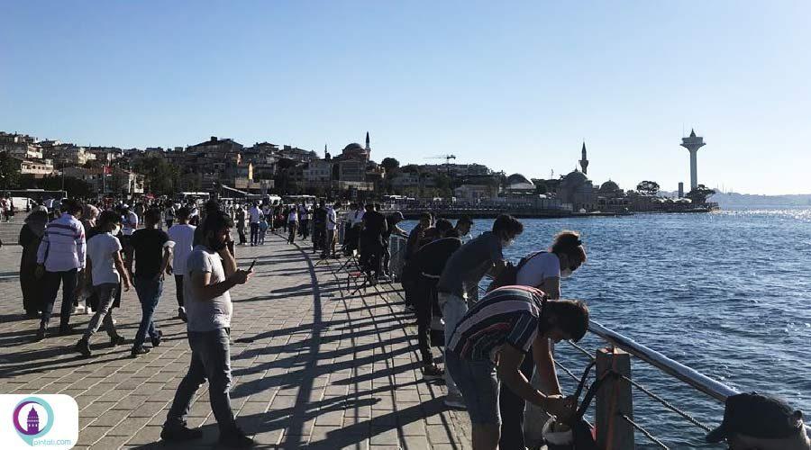مردم استانبول در روز دوم تعطیلات عید قربان