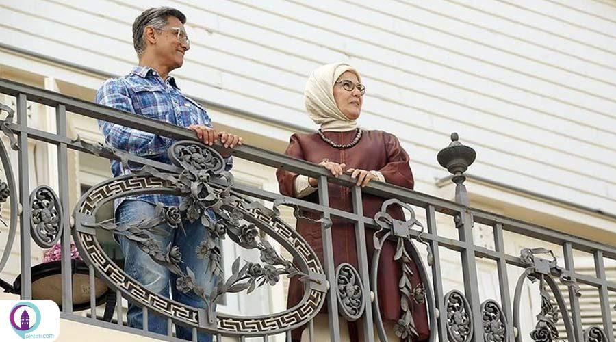 امینه اردوغان، عامرخان بازیگر مشهور هند را به حضور پذیرفت