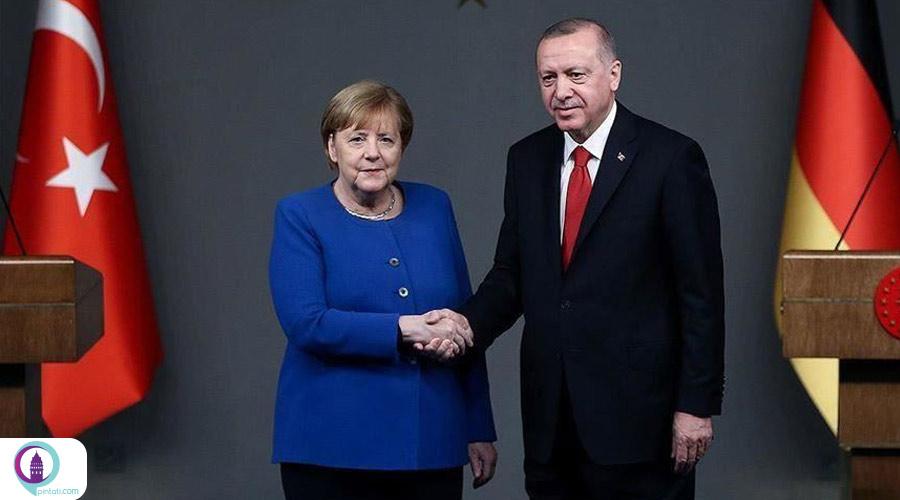 گفتگو تلفنی مرکل و اردوغان