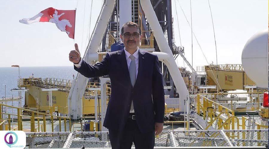 استخراج گاز در دریای سیاه توسط شرکت ملی نفت ترکیه انجام میشود